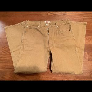 Levi's 501 Button Fly Jeans, Size 34 x 30